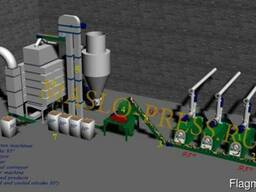 Cooler machine for sunflower and soybean oilcake - photo 3