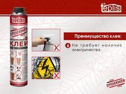 Строительный клей теплоизоляции Teplis Spiderweb 1000 мл. - photo 7