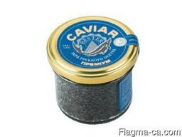 Natural black caviar of Russian sturgeon - photo 1