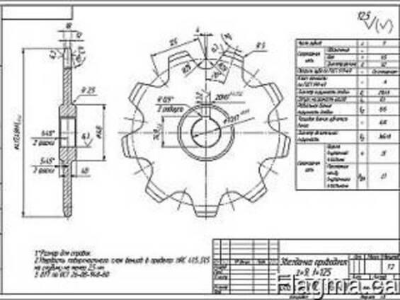 Детали на заказ по чертежам (обзазцам) заказника