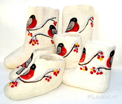 Handmade woolen products