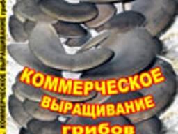 """Книга """" Промышленное Выращивание грибов Вешенки"""""""