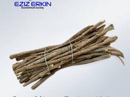 Корни и корневища солодки резанные, 25-40см.