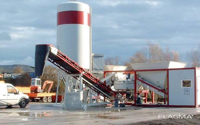 Мобильный Бетонный завод SUMAB K-30 (30 м3/час) Швеция