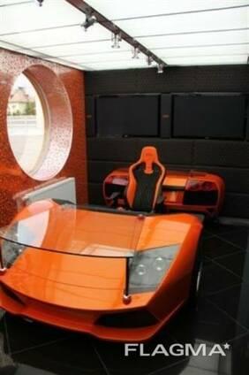 Racing desks Lamborghini Murciélago created by Frost Design