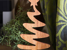Wood business souvenirs from solid alder and oak